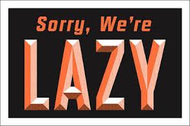 Lazy Authors